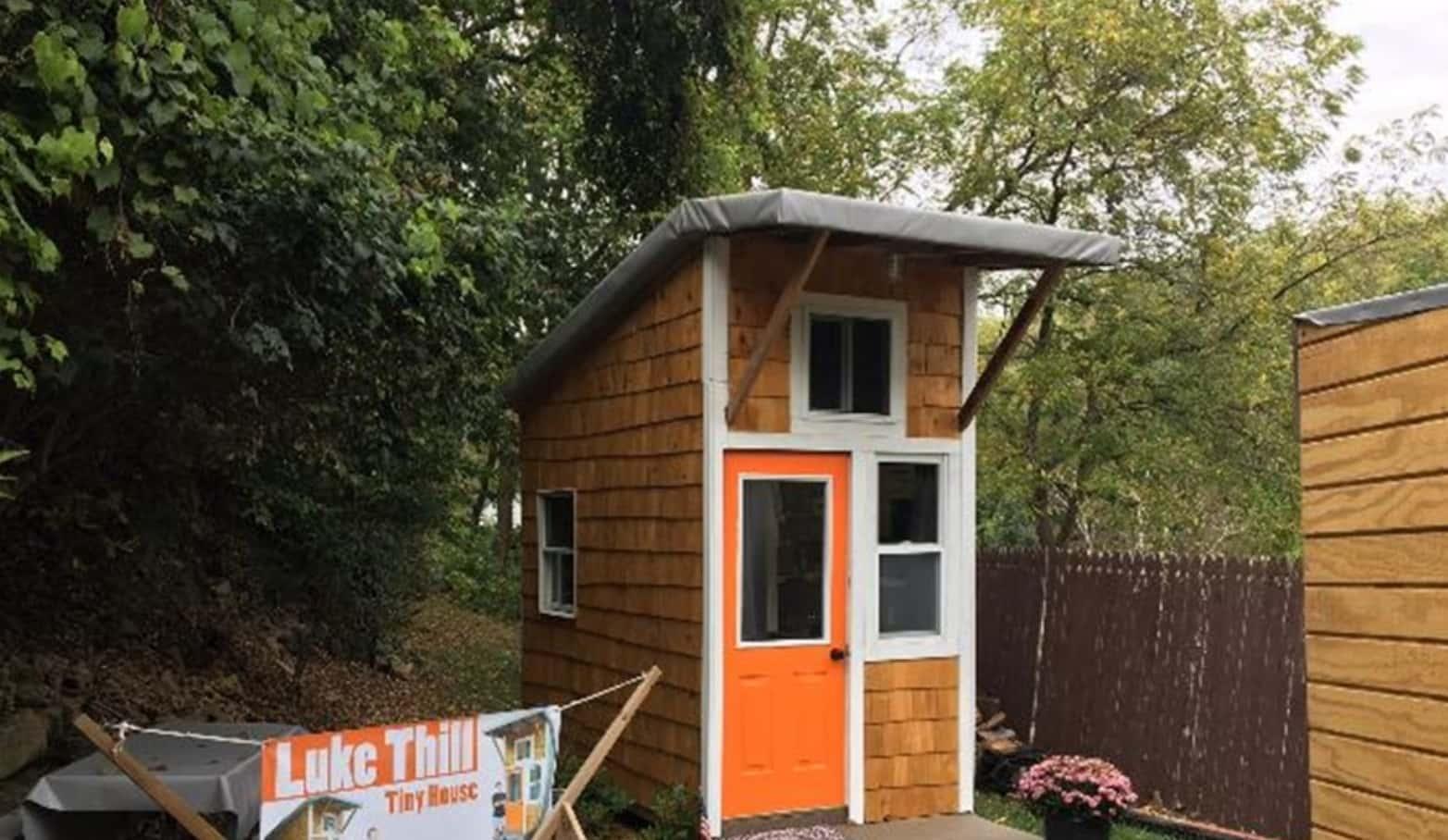 Construye Una Mini Casa Con Solo Trece Años