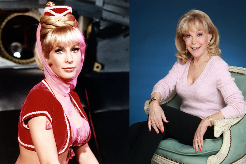 Barbara Eden Star Of Film, TV And Stage