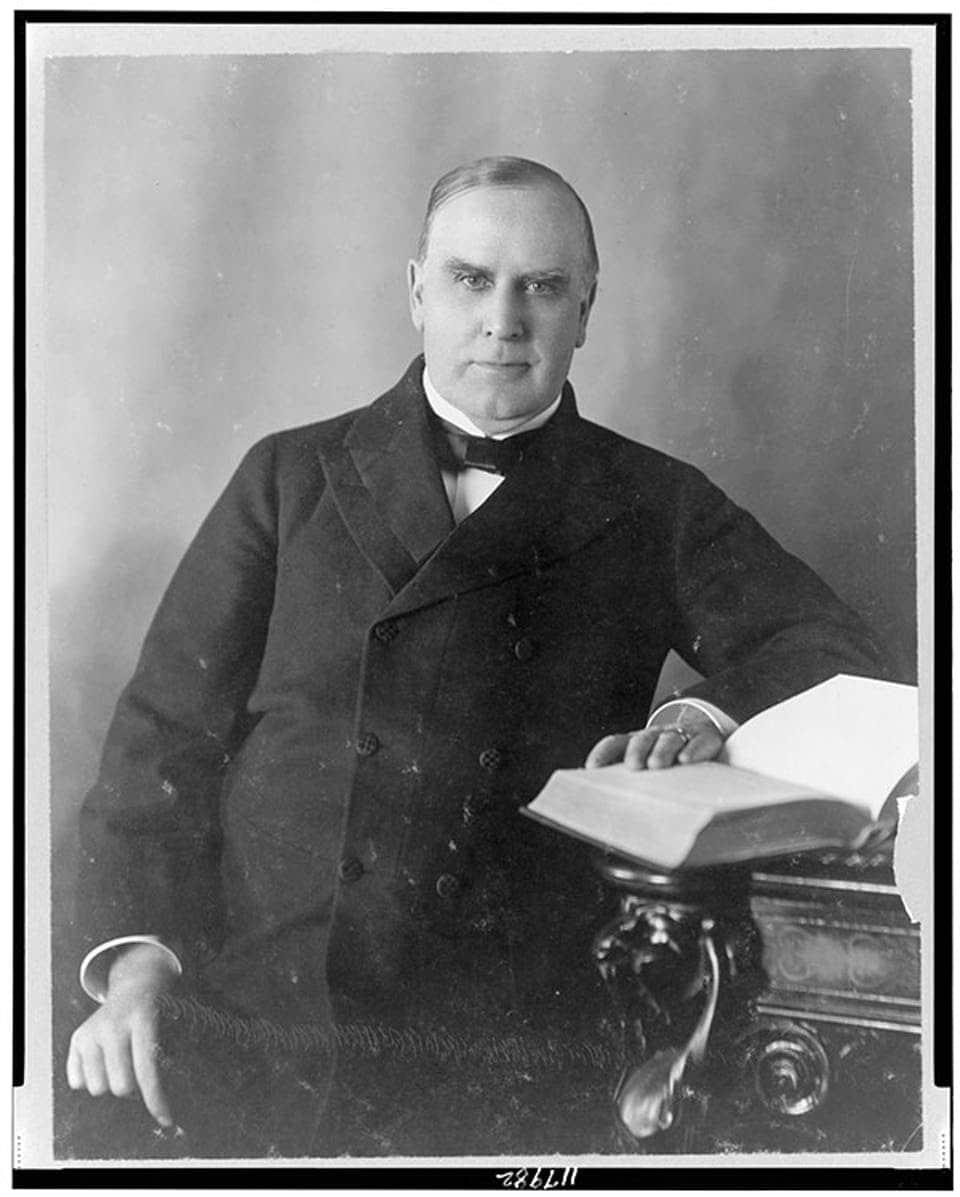 McKinley Als Kongressabgeordenter Und Gouverneur