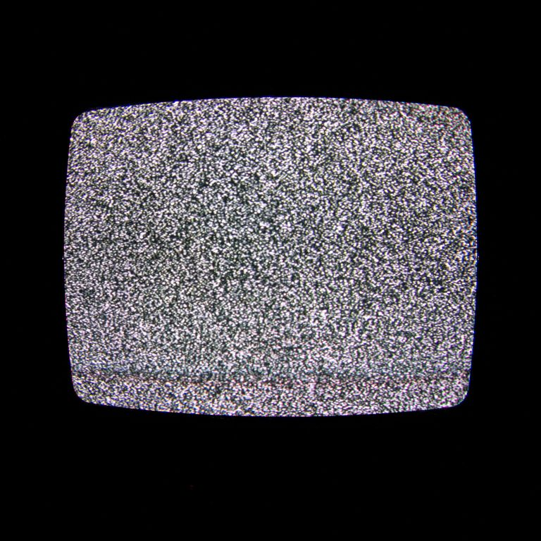 Seeing The TV Channels Sign Off