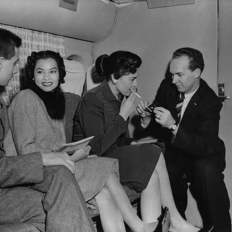 Smoking On Airplanes