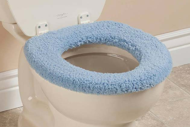 Fuzzy Toilet Seat Covers