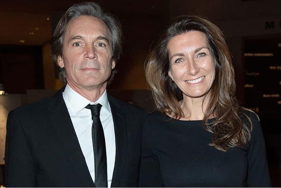 Anne Claire Coudray Et Nicolas Vix