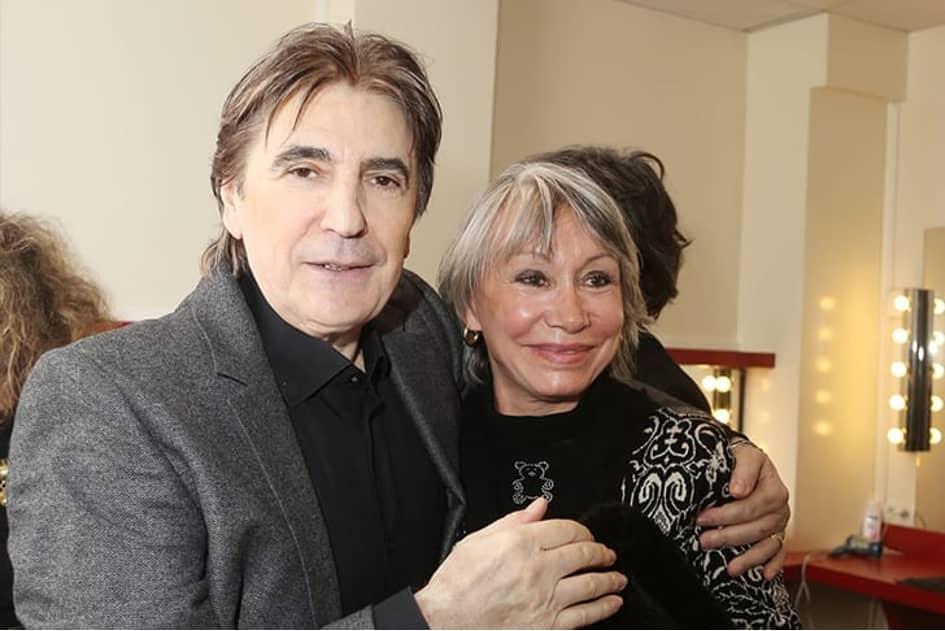 Serge Lama Et Michele Chauvier