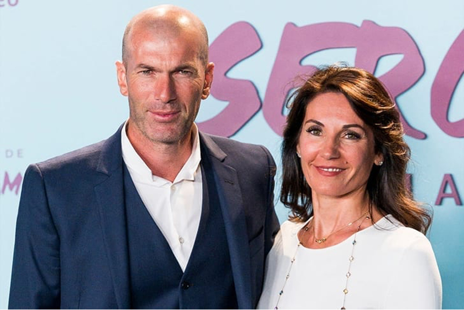 Zinedine Zidane Et Véronique Zidane