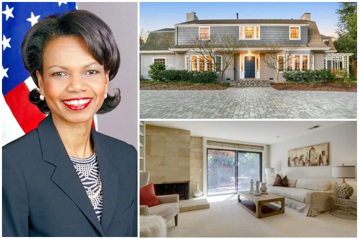 Condoleezza Rice – $2.3 Million, Palo Alto