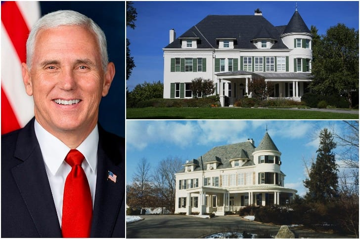 Mike Pence – $7.5 Million, Washington, DC