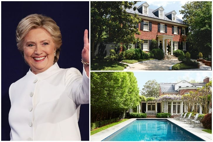 Hillary Clinton – $5.57 Million, Washington