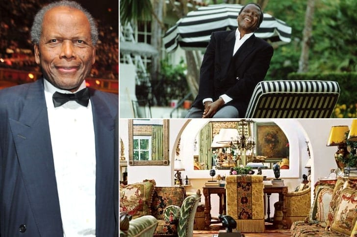 Sidney Poitier – Price Undisclosed, Beverly Hills