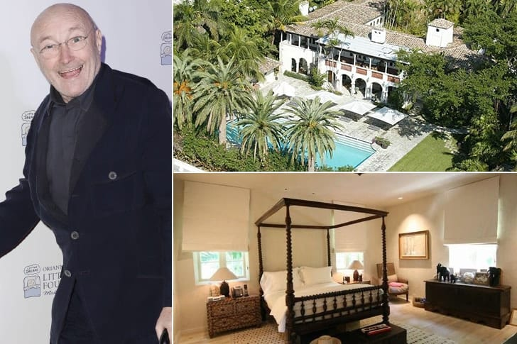 Phil Collins – $33 Million Miami Beach