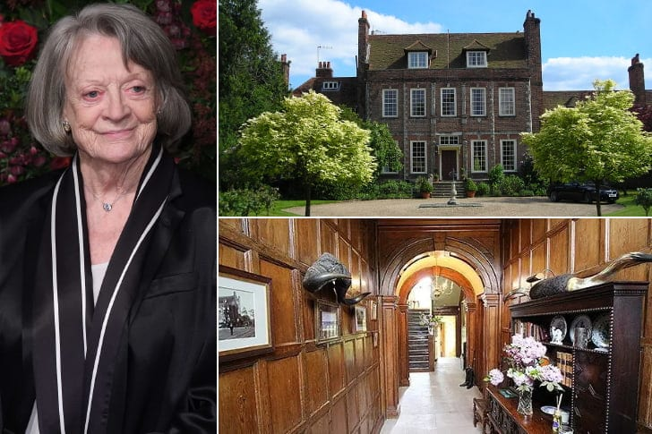 Maggie Smith – $7.7 Million, Byfleet