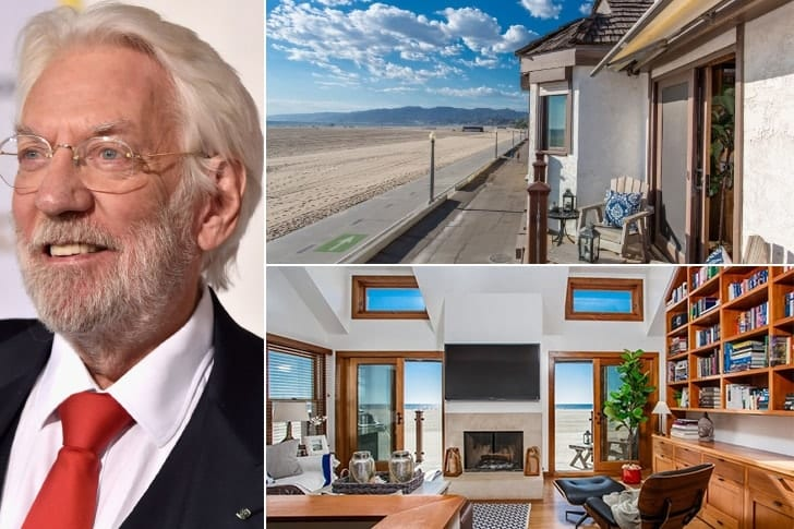 Donald Sutherland – $2.995 Million, Palisades Beach