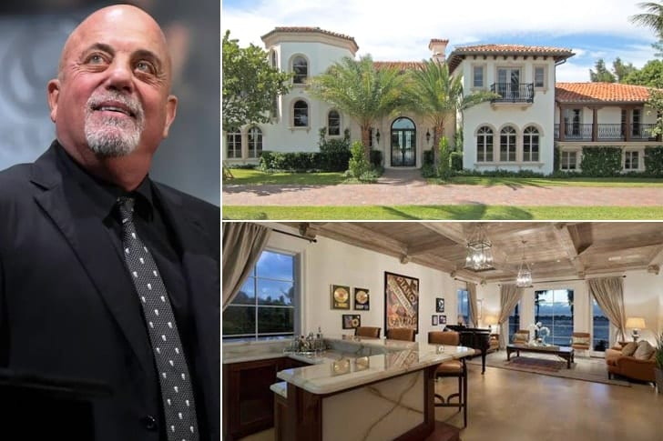 Billy Joel – $16.9 Million, Palm Beach