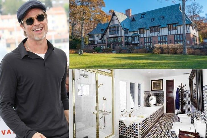 Brad Pitt – $55 Million, Long Island