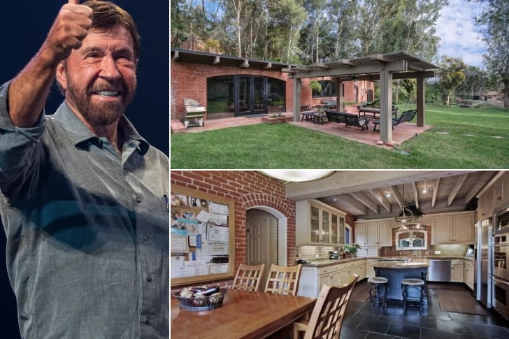 Chuck Norris – $3.5 Million, North Tustin