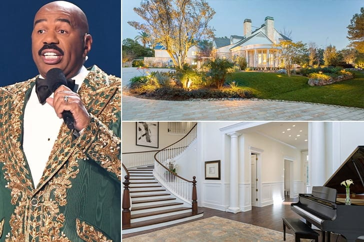 Steve Harvey – $165 Million, California