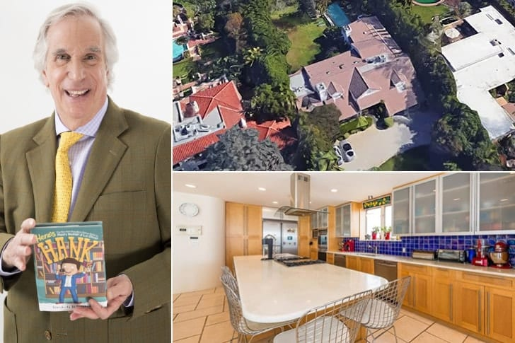 Henry Winkler – $3.4 Million, Bel Air