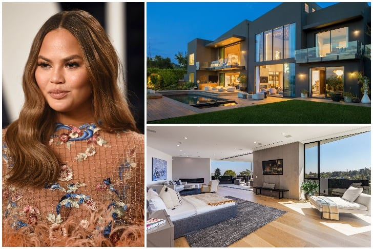 Chrissy Teigen – $17.5 Million, Beverly Hills