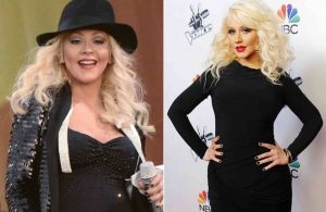 Christina Aguilera, 18 Kilos