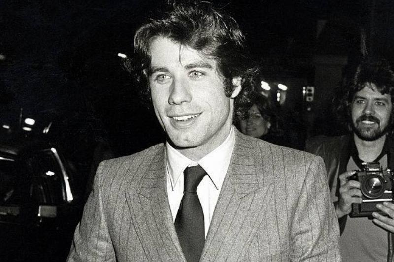 John Travolta Then