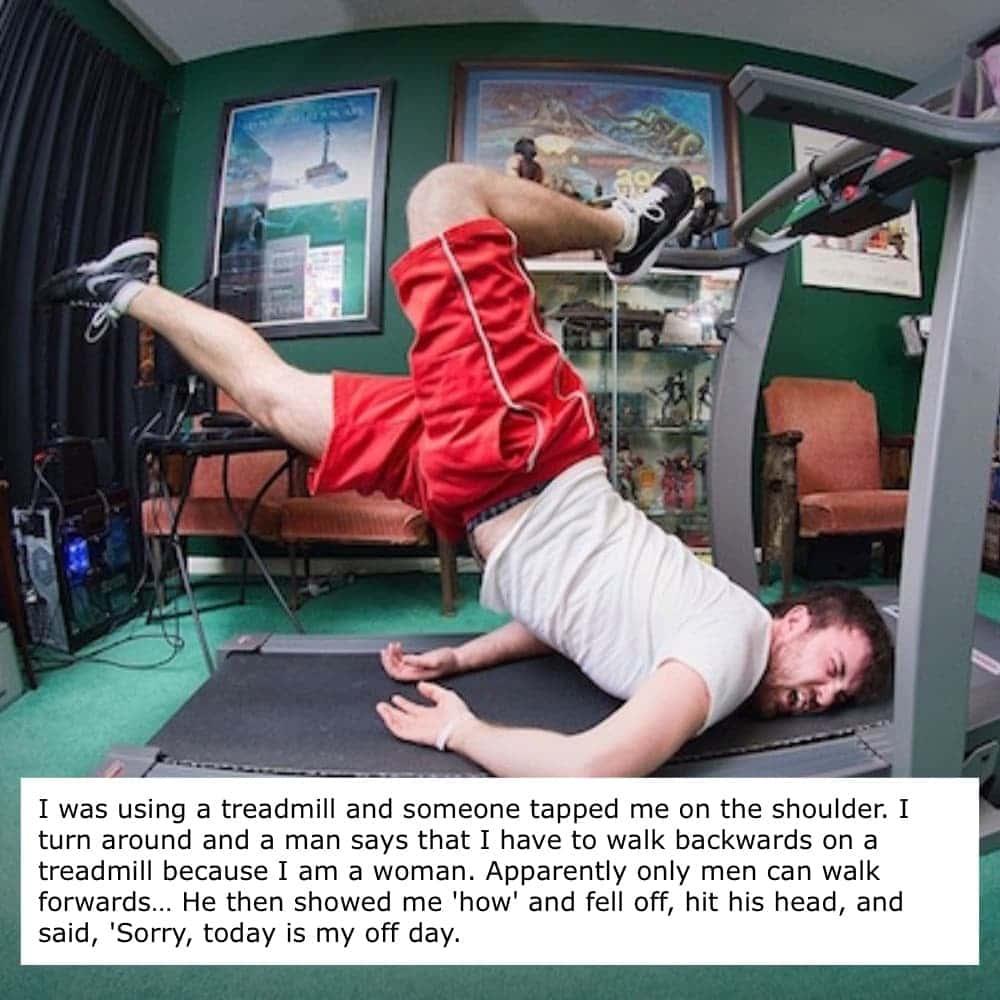 Awkward Treadmill Fail